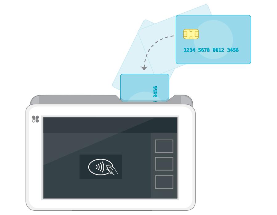 Clover Mobile Insert EMV Payment
